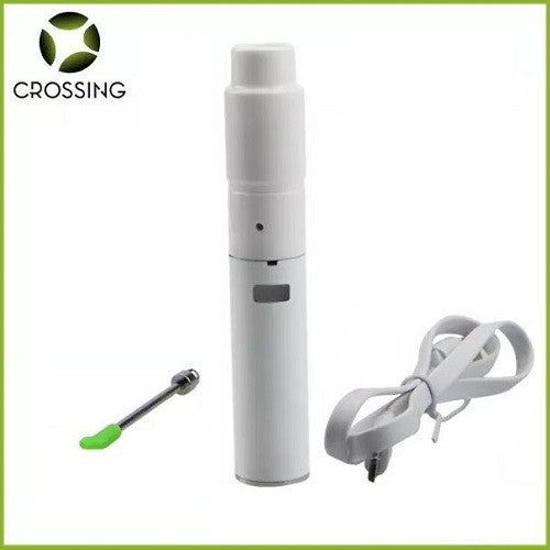 Crossing V2.7 Wide Mouth Ceramic Donut Sub Ohm Wax Pen Kit
