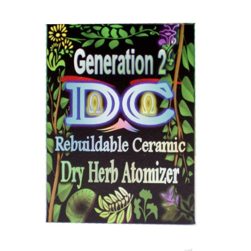 Divine Crossing Generation 2 Rebuildable Ceramic Dry Herb Atomizer