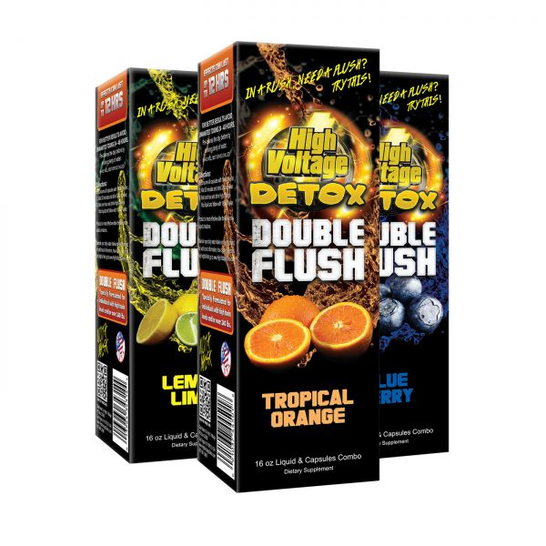 High Voltage Detox Double Flush Vape Pen Sales