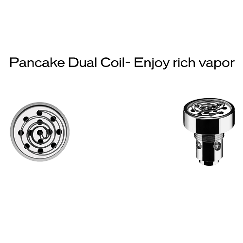 Yocan Evolve-D Dry Herb Pen Dual Pancake Replacement Coil - Vape Pen Sales