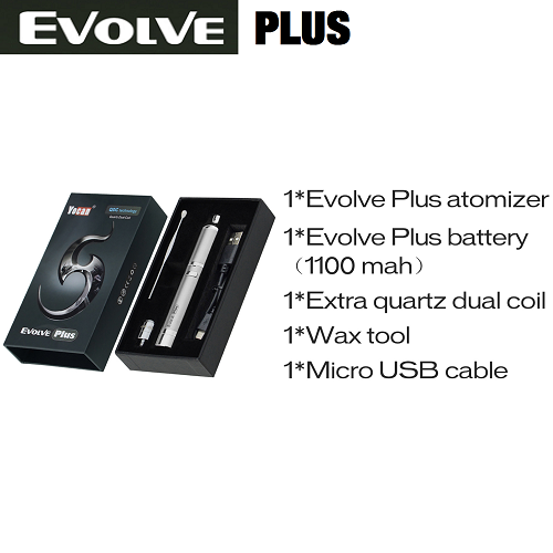 Yocan Evolve PLUS Quartz Dual Coil Wax Vape Pen KIt - Vape Pen Sales - 3