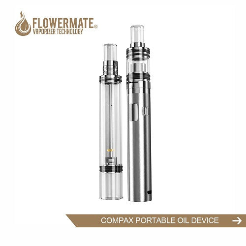 Flowermate Compax Vape Pen with Bubbler Wax