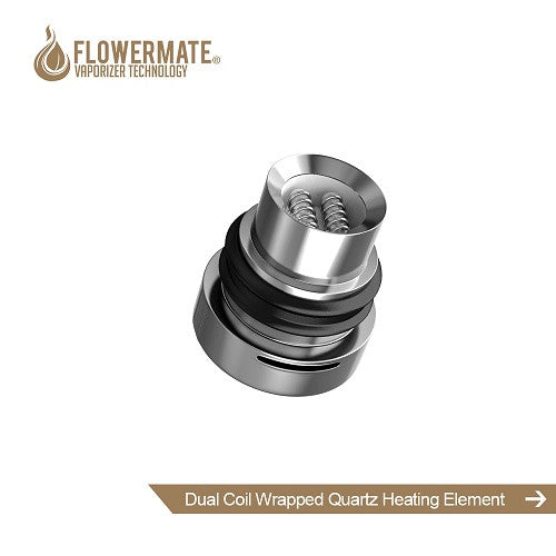 Flowermate Compax/S30 Dual Quartz Rod Coil Heating Element