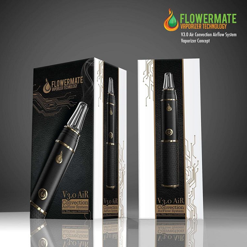 Flowermate V3.0S Air Vaporizer Wax/Dry Herb/Thick Oil