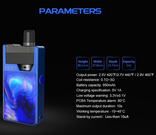 Geekvape Frenzy AIO Kit Vape Pen Sales