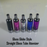 Glass Globe Style Straight Glass Tube Atomizer Wax or Dry Herb Atomizer - Vape Pen Sales - 1