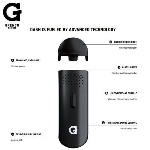 Grenco Science G Pen Dash Dry Herb Vaporizer Kit