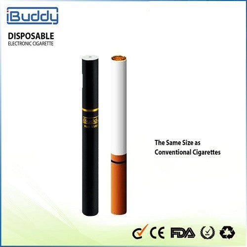 iBuddy Refillable Disposable Electronic Vaporizer (Thick oil, eLiquid) with free Needle Bottle - Vape Pen Sales - 4