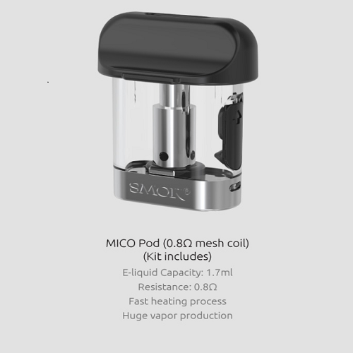 Smok Mico Replacement Pod 3-Pack