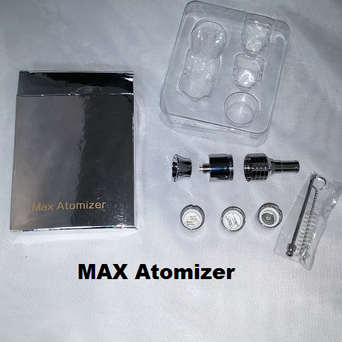 MAX Atomizer Kit - Large Chamber Three Coil Set (Wax and Dry Herb) - Vape Pen Sales - 2