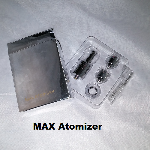 MAX Atomizer Kit - Large Chamber Three Coil Set (Wax and Dry Herb) - Vape Pen Sales - 1