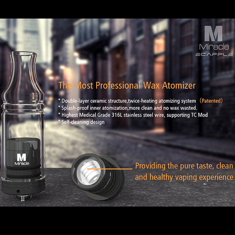 Ecapple Miracle Wax Atomizer