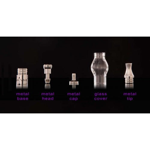 Vhit Type C Single or Dual Coil (Wax) Atomizer - Vape Pen Sales - 3