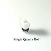 Glass Globe Replacement Coil - Single/Dual Quartz Rod (Wax/Dry Herb)