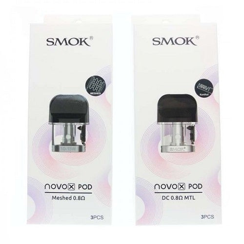 Smok Novo X Replacement Pods - 3 Pack
