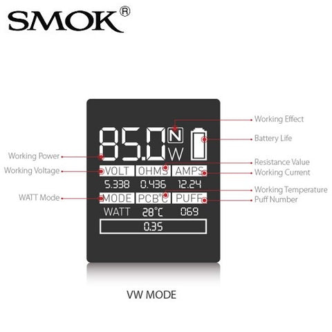 SMOK AL85 85 Watt Battery Mod