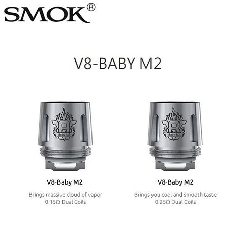 Smok V8 Baby / Big Baby Replacement Coils