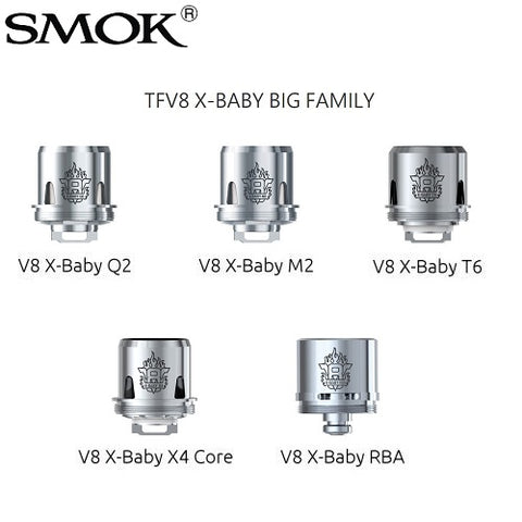 Smok V8 X-Baby Replacement Coils