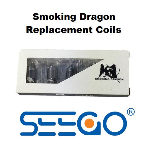 Seego Smoking Dragon DHQ Plus Wax Vape Replacement Coil - Vape Pen Sales - 1