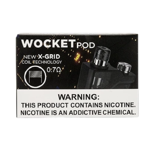 Vape Pen Sales Snowwolf Wocket 25w Pod System Replacement Pods and Coils Pod Box View