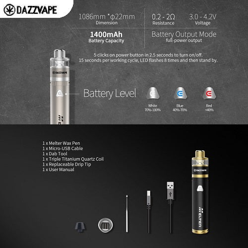 Dazzvape Melter Wax Vape Pen Kit