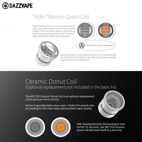 Dazzvape Melter Replacement Coils Vape Pen Sales