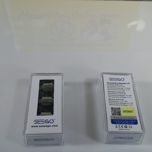 Seego VHIT Type B2/C2 Replacement Coils - Vape Pen Sales