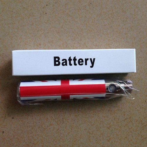 UK Flag Vape Pen Battery - eGo 650mah