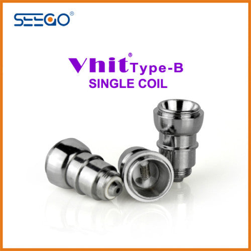 Seego Vhit Type B Single or Dual Nickel Replacement Coil (wax, thick oil)