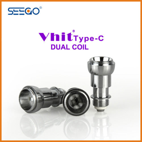 Seego Vhit Type C Single or Dual Replacement Coil (wax, thick oil) - Vape Pen Sales - 2