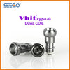 Seego Vhit Type C Single or Dual Replacement Coil (wax, thick oil)