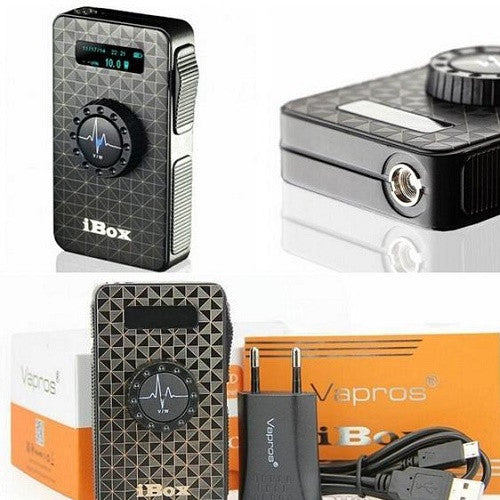Vision Vapros iBox 25W 1500mah Variable Voltage and Wattage Vaping Battery - Vape Pen Sales - 3