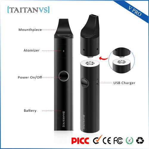 Vpro TaitanVS Wax Vape Pen Kit