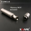 Xvape V-One 2.0 Dual Quartz Rod Wax Pen Atomizer