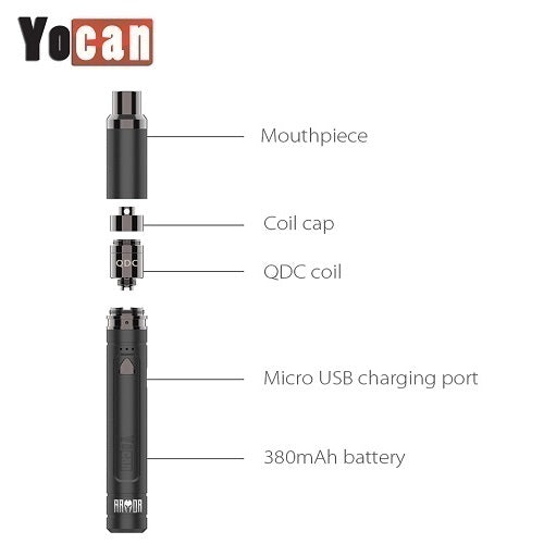 Yocan Armor Variable Voltage Wax Pen Kit
