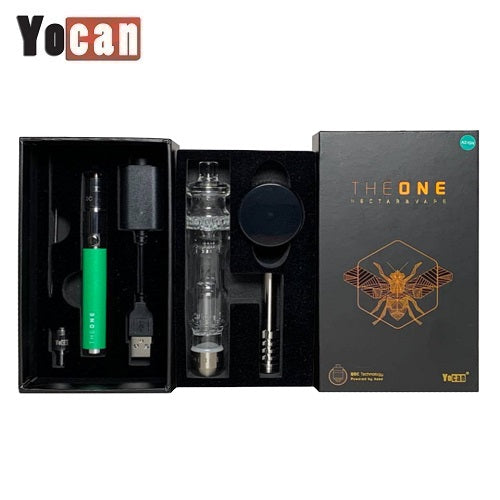 Yocan The One Electronic Nectar Collector Wax Vape Pen Kit