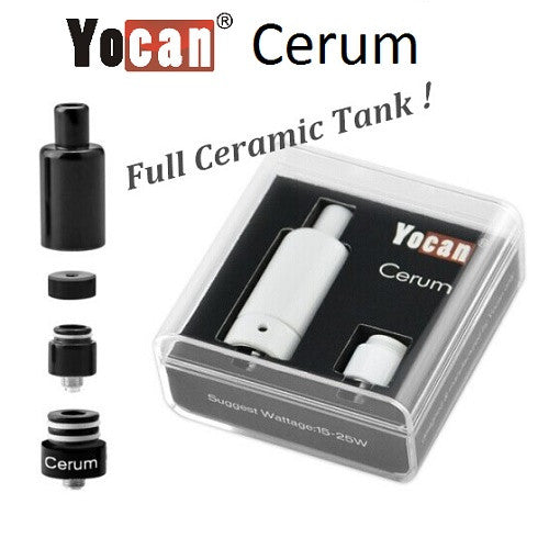 Yocan Cerum Full Ceramic Tank Wax Atomizer - Vape Pen Sales - 1