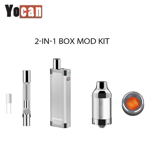 Yocan Delux 2-In-1 Concentrate Vaporizer Box Mod Kit