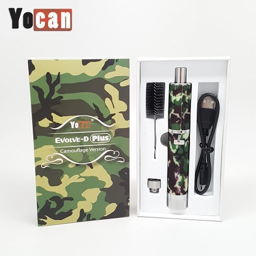 Yocan Evolve D Plus Camouflage Version Dry Herb Vape Pen Kit