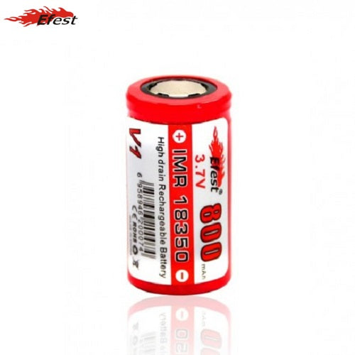 Efest IMR 800mAh 18350 High Drain Rechargeable Battery Vape Pen Sales