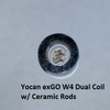 Yocan EXgo W4 Replacement Coil Dual Ceramic Rod or Nero (Wax)