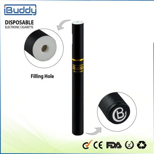 iBuddy Refillable Disposable Electronic Vaporizer (Thick oil, eLiquid)