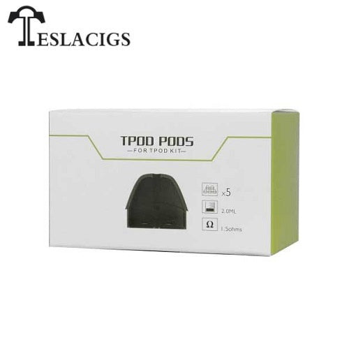 Teslacigs TPOD Replacement Pod 5-Pack