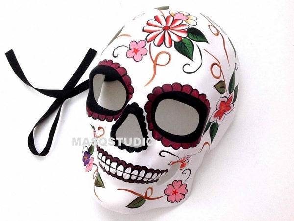 Day of the Dead Dia de los Muertos Sugar Skull full face Mens Masquerade Mask