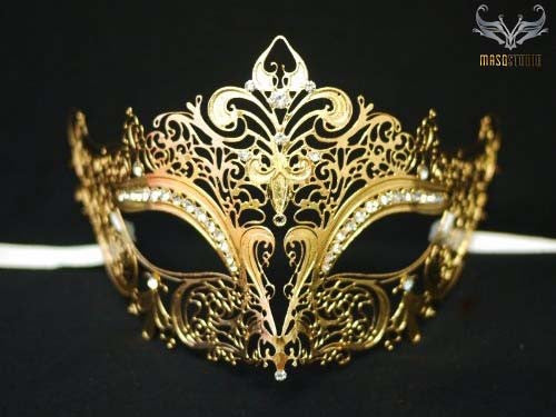 Stacy keiblers mask Gold