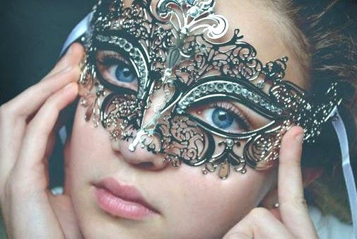 Stacy keiblers mask Silver