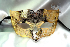 Metal Males Gold mask