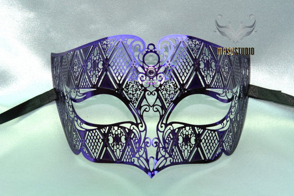 Metal Males Purple mask