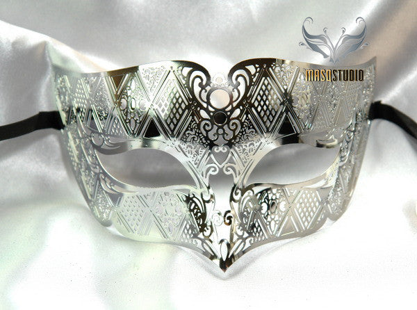 Metal Males Silver mask