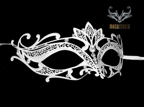 Lotto Filigree metal mask White